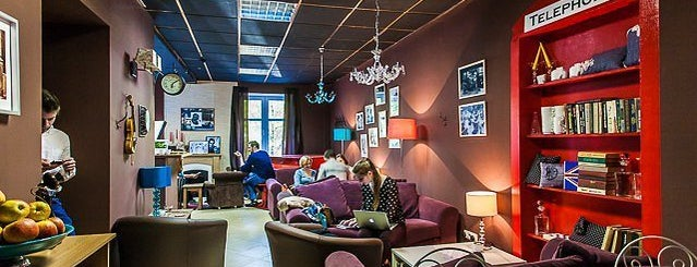 Sherlock coffee hall is one of Минск.