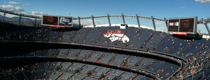 Empower Field at Mile High is one of US Pro Sports Stadiums - ALL.