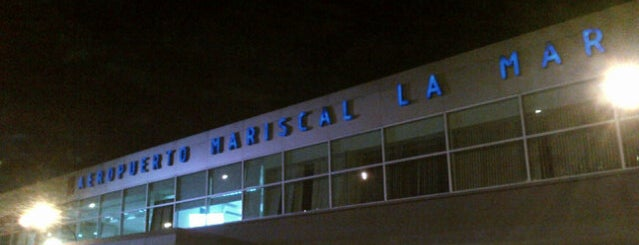 Aeropuerto Mariscal Lamar (CUE) is one of Antonio Carlosさんのお気に入りスポット.