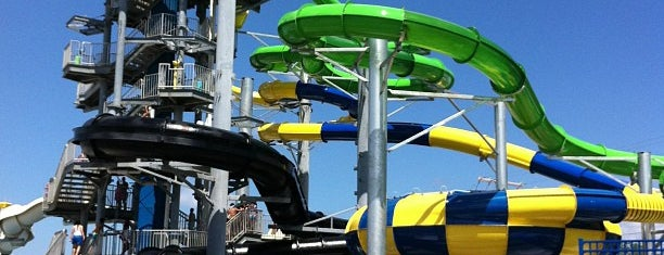 Keansburg Amusement Park and Runaway Rapids is one of New Jersey.