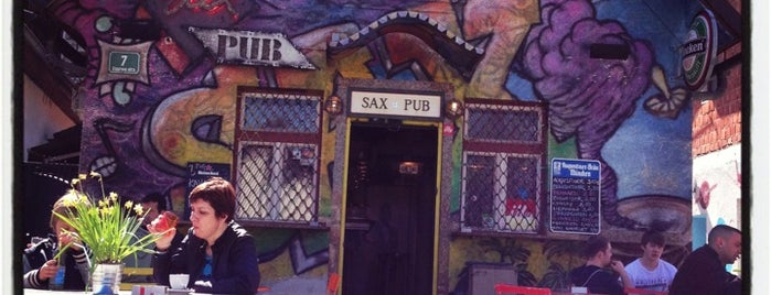 Sax Pub & Sax Hostel is one of Lieux qui ont plu à Ajda.