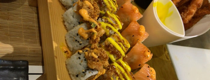 Finding Sushi is one of Sushi Restaurant in Riyadh.