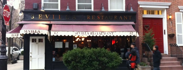 Sevilla Restaurant is one of Nova nova nova york.