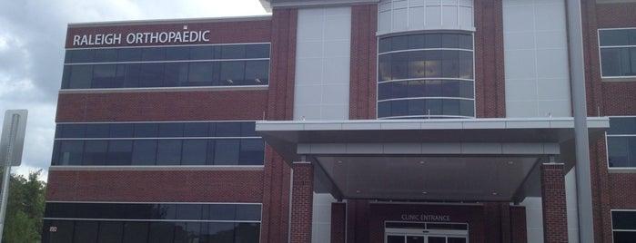 Raleigh Orthopaedic Clinic is one of Posti salvati di Illya.