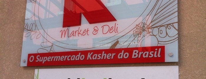 Super K Market & Deli is one of São Paulo Kosher.