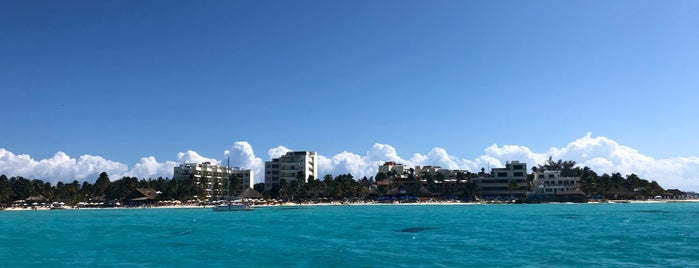 Playa Blanca is one of Cancun.