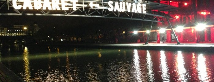 Cabaret Sauvage is one of Arthur's places to visit.