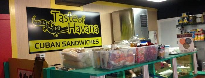 Taste Of Havana is one of Indy.