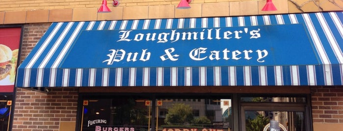 Loughmiller's Pub & Eatery is one of Katie 님이 저장한 장소.