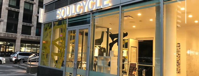 SoulCycle West 60th Street is one of Tempat yang Disukai Sexy.