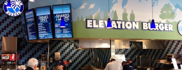 Elevation Burger is one of Jared's Liked Places.