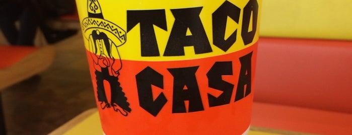 Taco Casa is one of Lugares favoritos de Stacy.