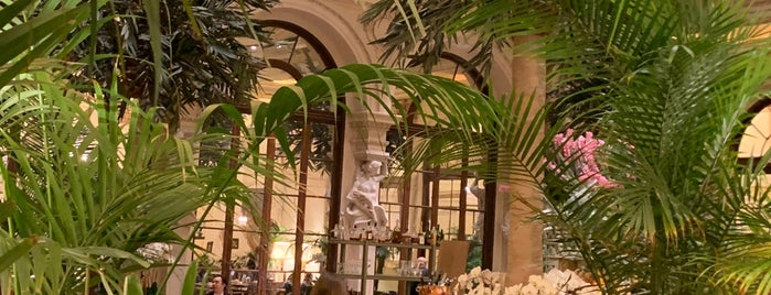 The Palm Court at The Plaza is one of New York.
