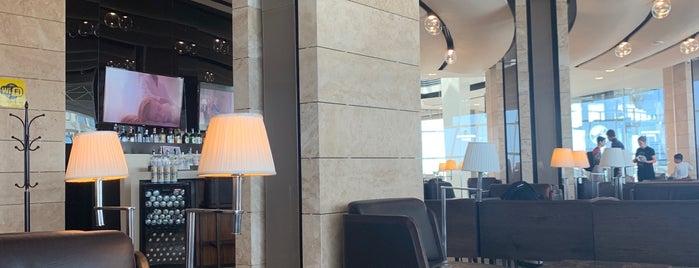 THY Business Lounge is one of Metin'in Beğendiği Mekanlar.