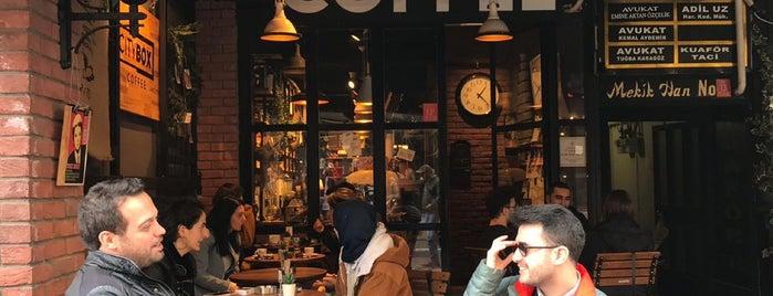 City Box Coffee&Bakery is one of Balıkesir; Kafe.