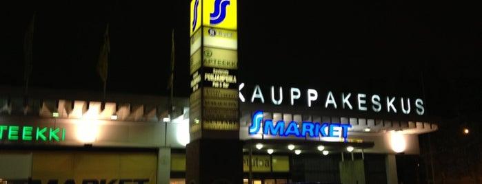 Jakomäen ostoskeskus is one of Ostarit.
