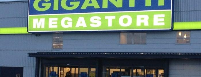 Gigantti Megastore is one of Orte, die Hannes gefallen.