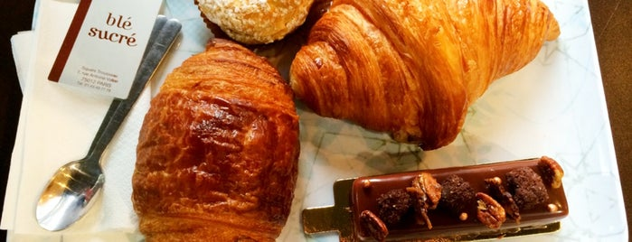 Blé Sucré is one of Croissants.