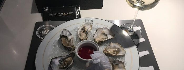 Seafood Bar by Caviar House & Prunier is one of Alexander 님이 좋아한 장소.