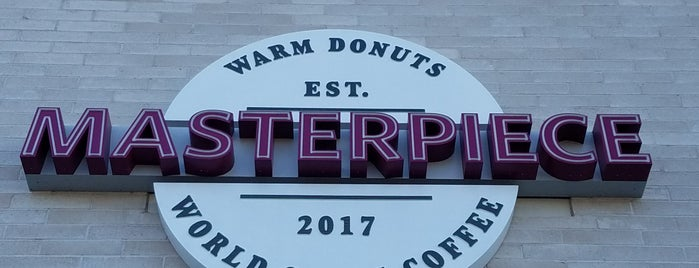 Masterpiece Donuts & Coffee+ is one of Phx Try.