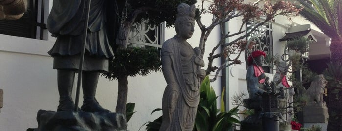 Koyasan Buddhist Temple is one of Jake's LA.