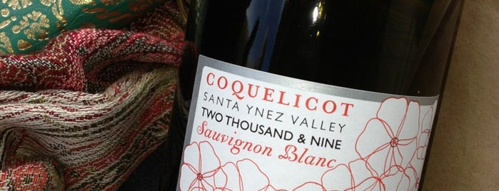 Coquelicot Tasting Room is one of Santa Barbara Wineries.