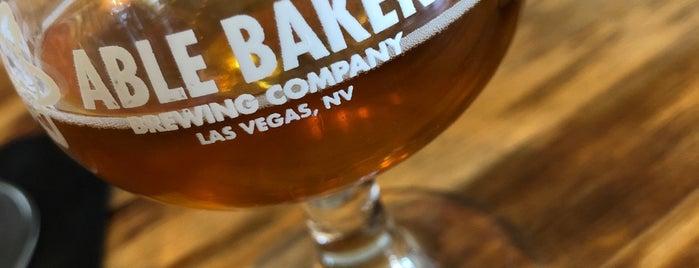 Able Baker Brewing is one of Gespeicherte Orte von Whit.