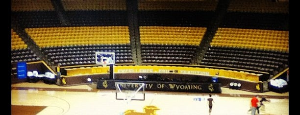 University Of Wyoming Arena Auditorium is one of Tempat yang Disukai Anthony & Katie.