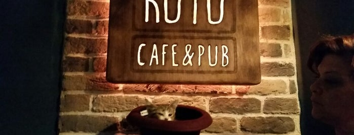 Kutu Cafe & Pub is one of Locais curtidos por MYZ.
