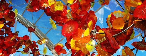 Chihuly Garden and Glass is one of West Coast Sites.