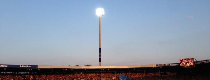 Eintracht-Stadion is one of 'Stadium Talk'....