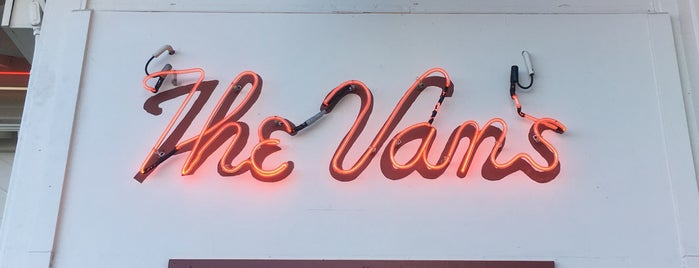 The Van's Restaurant on the Hill is one of Pacific Old-timey Bars, Cafes, & Restaurants.