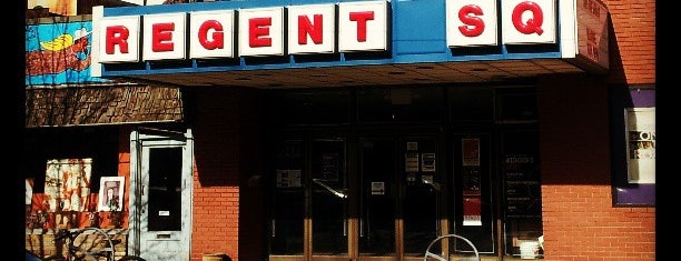 Regent Square Theater is one of Out of town Restaurants.