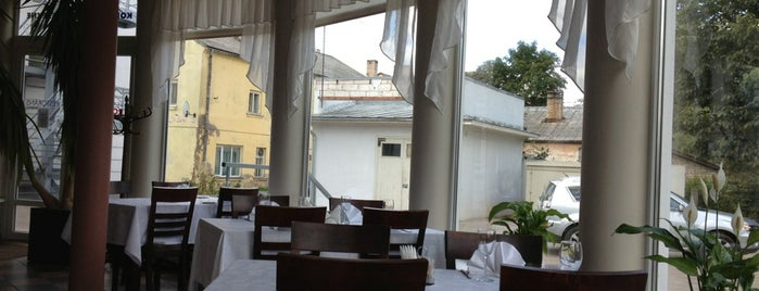 "Restaurant ""ROZALIJA"" | Kolonna Hotels Group is one of Restorāni,bāri,klubi LV."