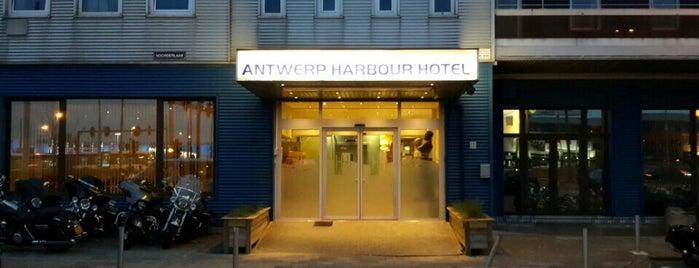 Antwerp Harbour Hotel is one of Posti che sono piaciuti a Ana-Maria.