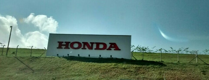 Honda Automóveis do Brasil is one of Leandroさんのお気に入りスポット.