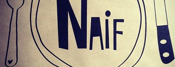Naif Sandwich & Bar is one of Madrid: Restaurantes +.