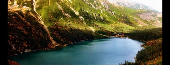 Morskie Oko is one of Re-discover Europe 2014.