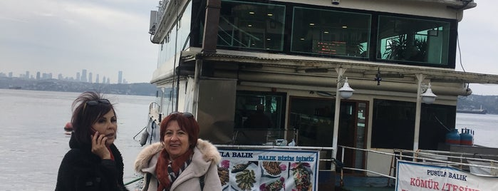 Pusula Balık Cafe & Restaurant is one of Yusuf : понравившиеся места.