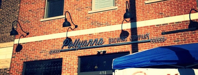 Pollyanna Brewing Company is one of Chicago area breweries.