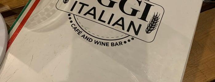 Oggi Italian is one of Tempat yang Disukai Melissa.