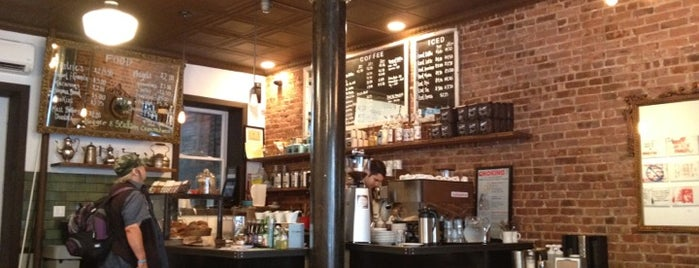 Lenox Coffee is one of New York's Best Coffee Shops - Manhattan.