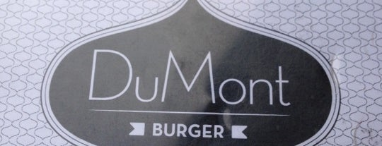 DuMont Burger is one of Pelin's NYC Favs.