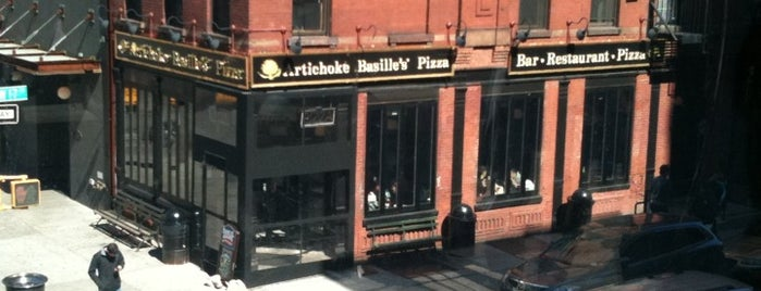 Artichoke Basille's Pizza & Bar is one of NY food and drink.
