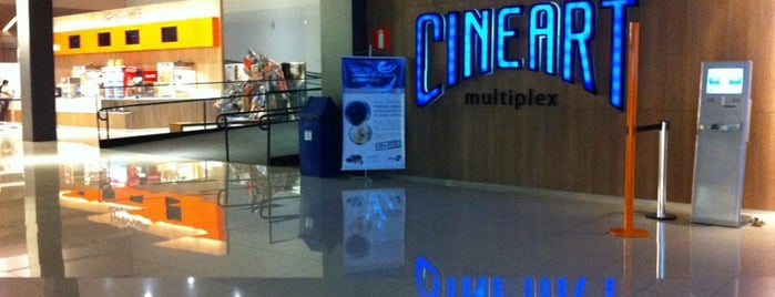 Cineart is one of Cinemas de Belo Horizonte.