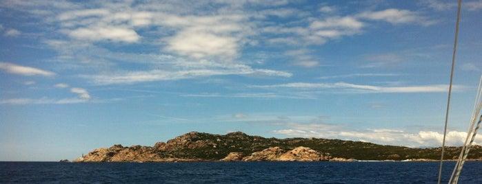 Budelli is one of Sardinia.