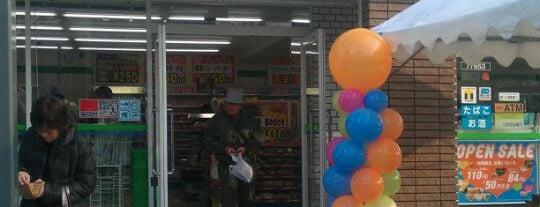 FamilyMart is one of ゆうちょ銀行ATM設置ファミマ.