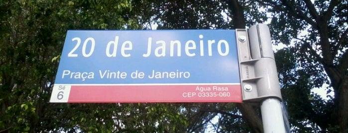 Praça 20 de Janeiro is one of Posti che sono piaciuti a Fabio Henrique.