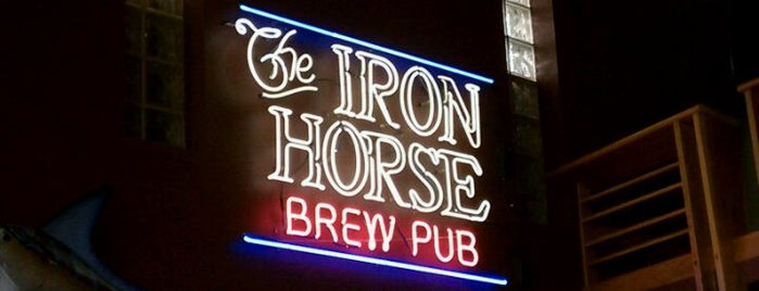 Iron Horse Brew Pub is one of A State-by-State Guide to 2015's Most Popular Bars.