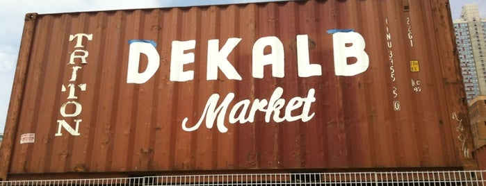 Dekalb Market is one of NY.